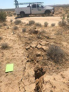 220px July 4 2019 Ridgecrest surface rupture