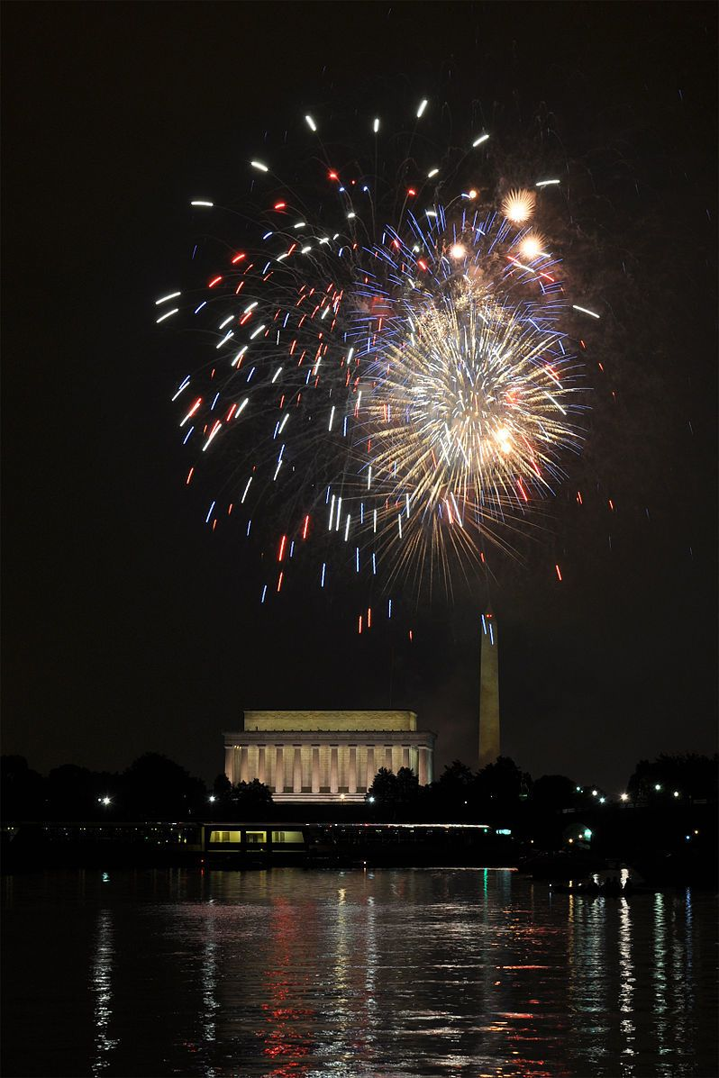 798px Fourth of July Fireworks at Washington DC 2
