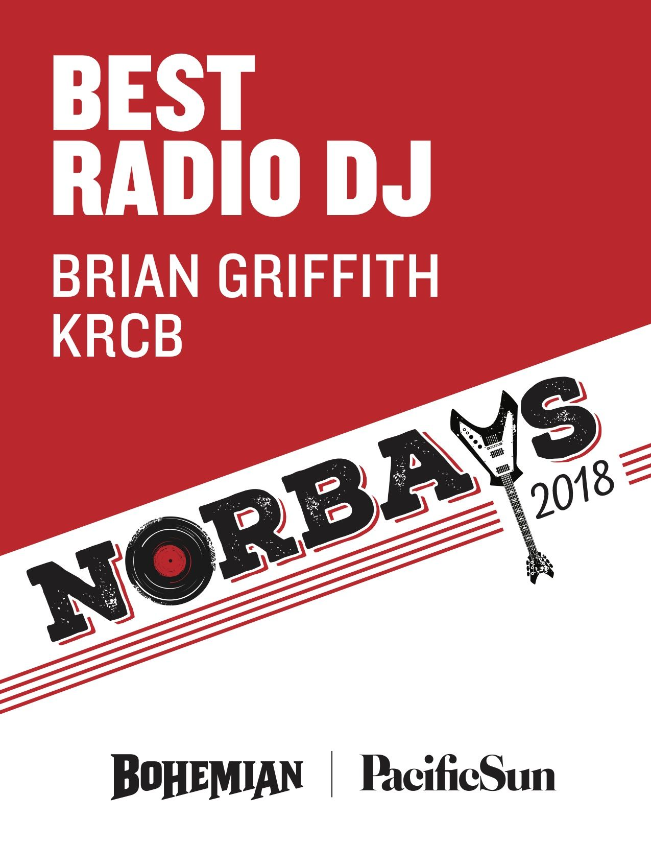 BrianG Norbays2018 Awards