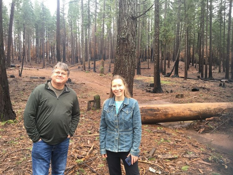 CA BURNING EP4 Jim and Calli jane Open Forest