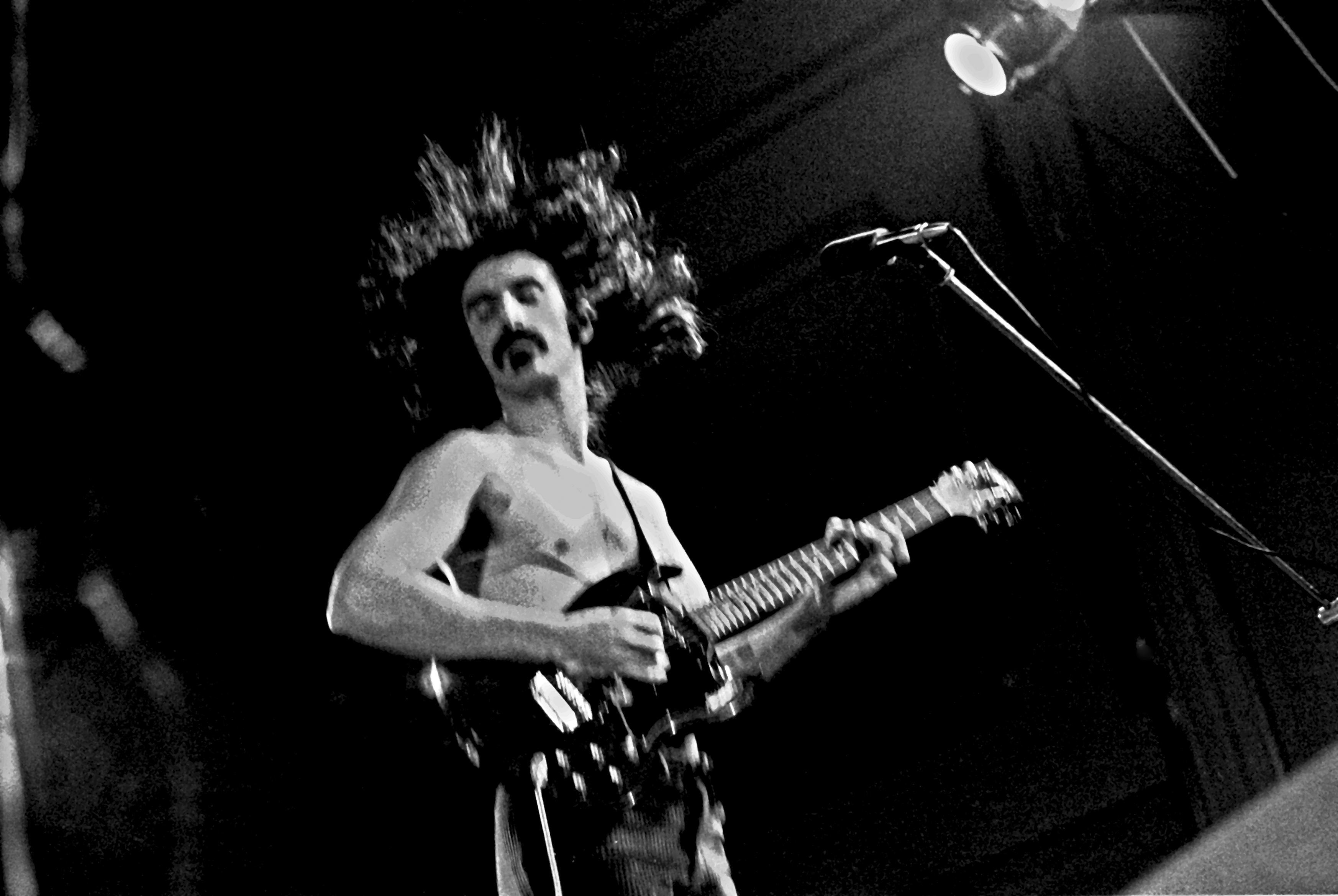 Frank Zappa in glory
