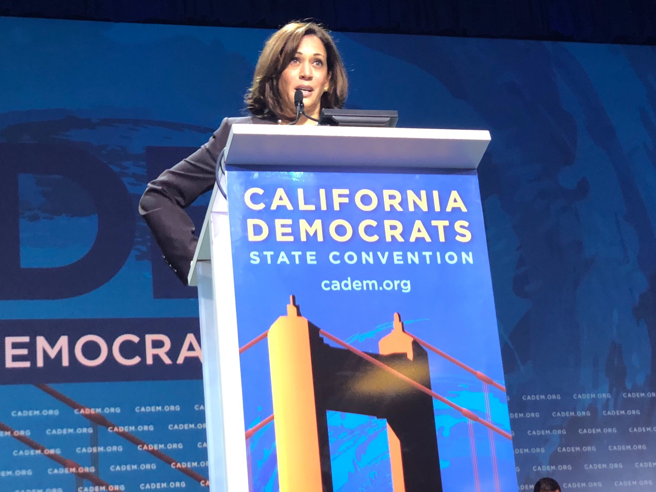Kamala Harris at CA Dem Convention