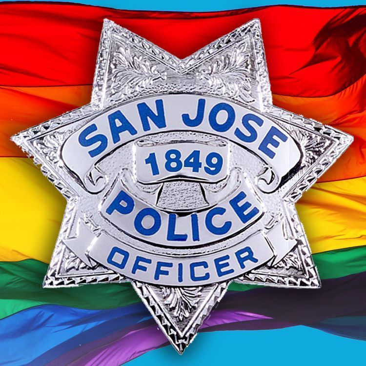 SJPD Rainbow Badge