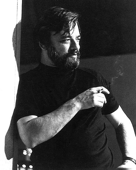 Stephen Sondheim smoking