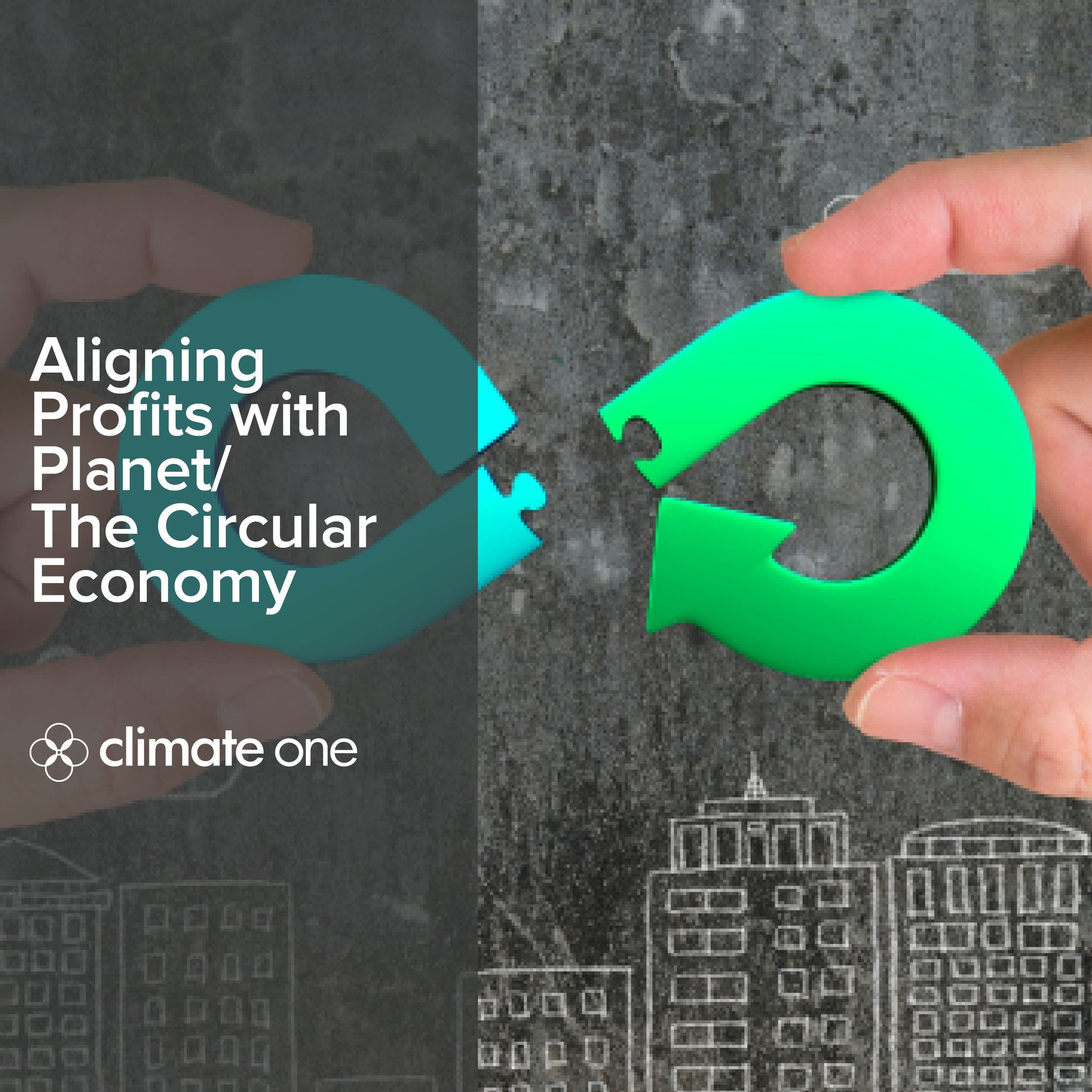 climate one twitter Profits or planet circular economy