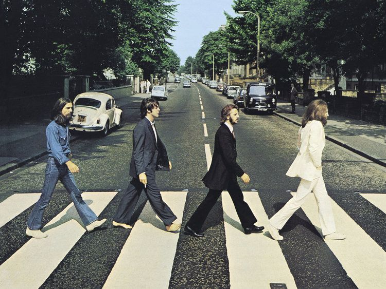 cover art the beatles abbey road