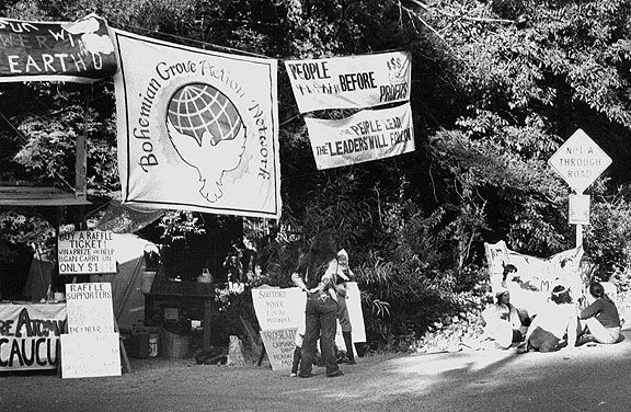 Bohemian-grove-front-gate-pic-3-banners