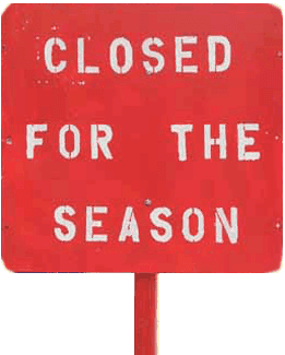 Closed season