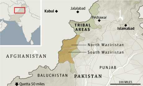 Pakistan-drones-map