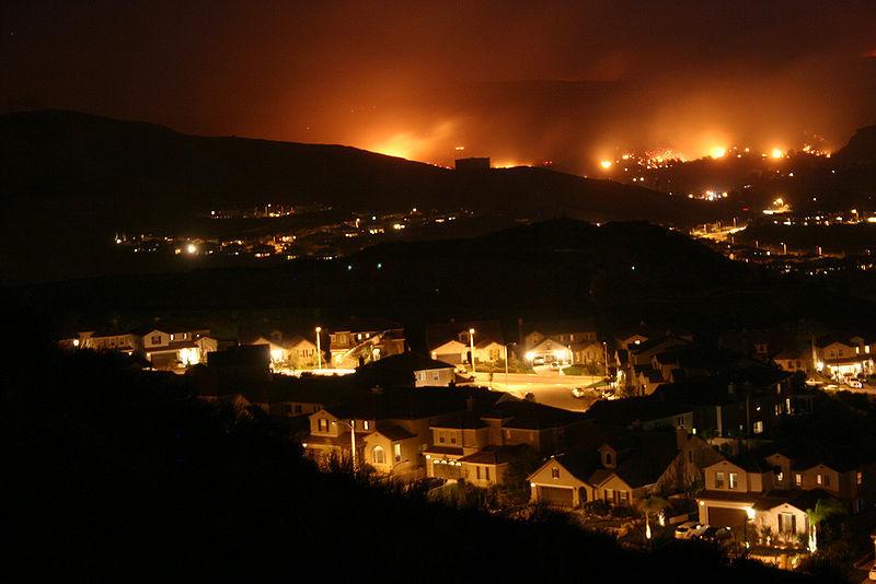 800px Wildfire California Santa Clarita