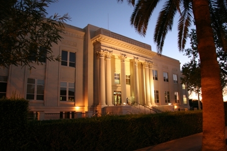 Imperial County Superior Courthouse El Centro Night