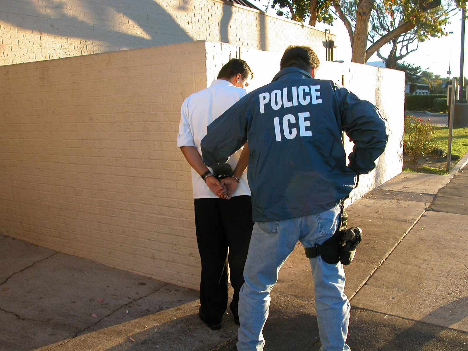 US Immigration and Customs Enforcement arrest